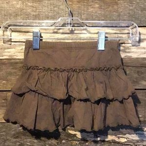 💛10/$10 Circo Brown Ruffled Skirt